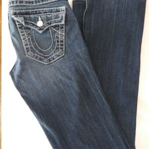 True Religion Women's Disco Becky Big T Jeans Size